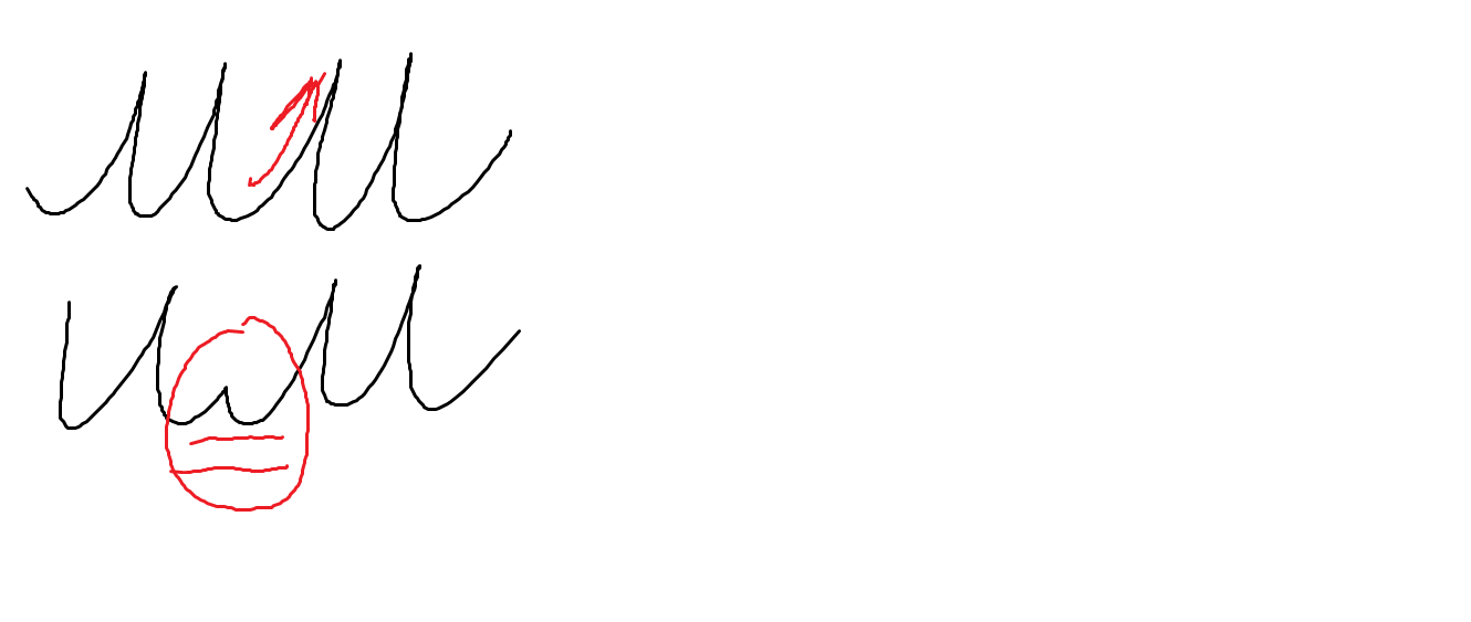 Russian Cursive  Letter И    russianwithval